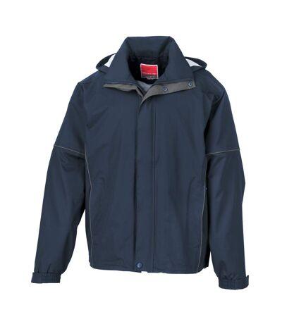 Result - Veste imperméable légère et coupe-vent - Homme (Bleu marine) - UTBC3050