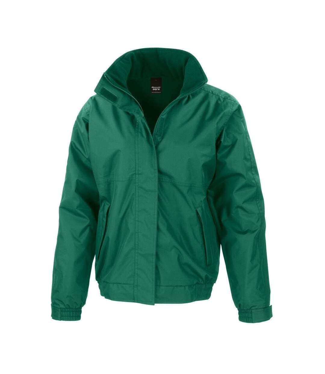 Result Core Mens Channel Jacket (Bottle Green) - UTBC914