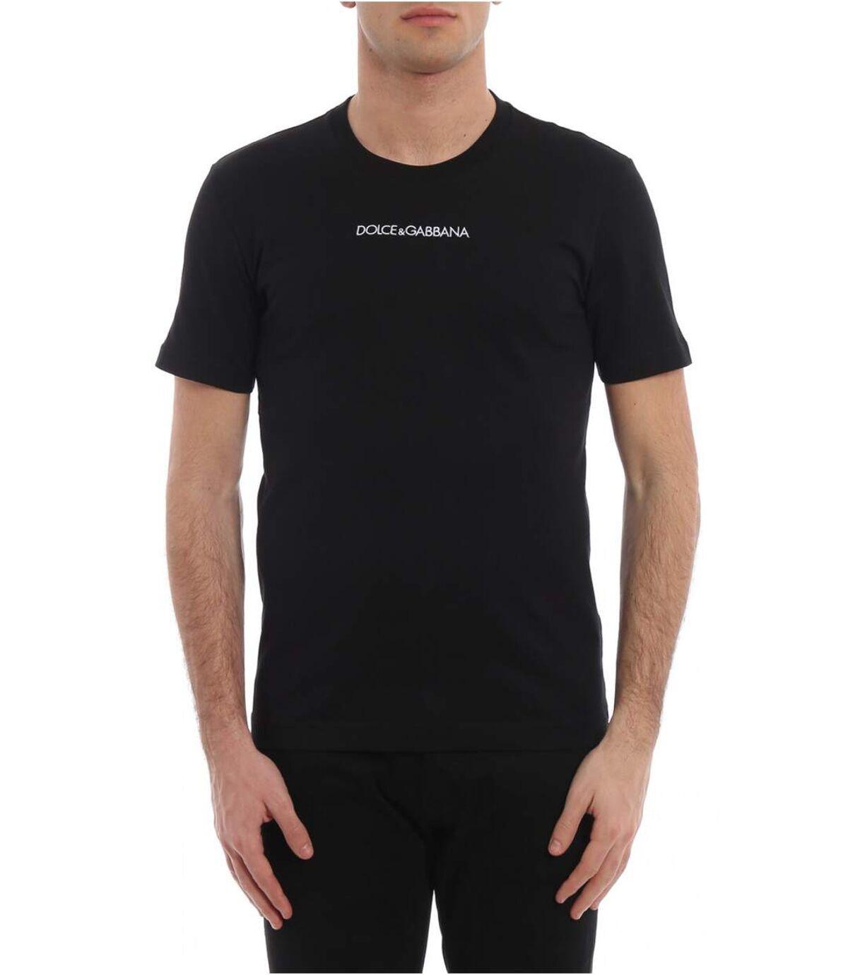 Tee shirt en coton iconic  -  Dolce&Gabbana - Homme