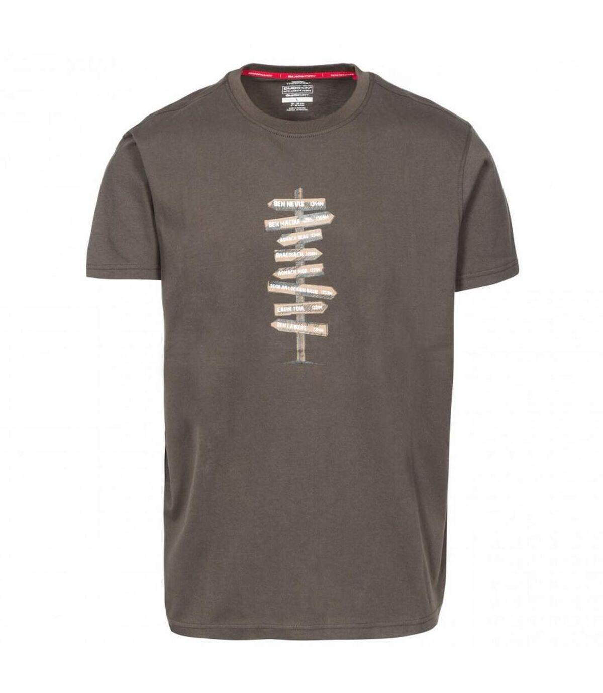 Trespass Mens Mapping T-Shirt (Khaki) - UTTP4308