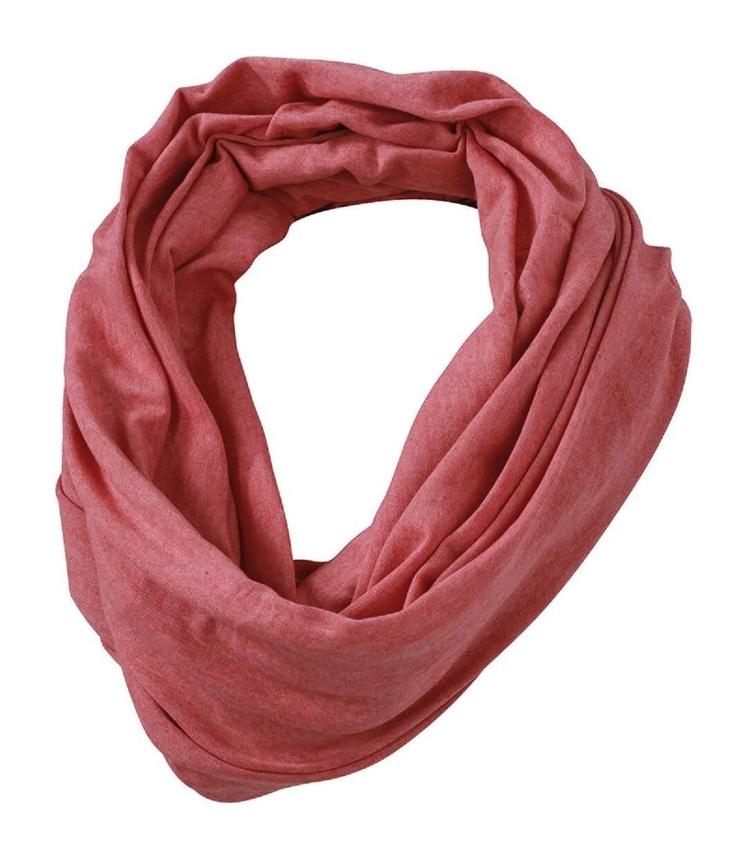 Echarpe - Tour de cou adulte - MB6578 - rouge mélange