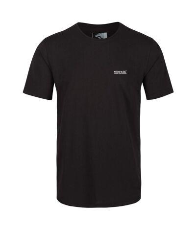 Regatta - T-shirt de sport TAIT - Homme (Noir) - UTRG4902