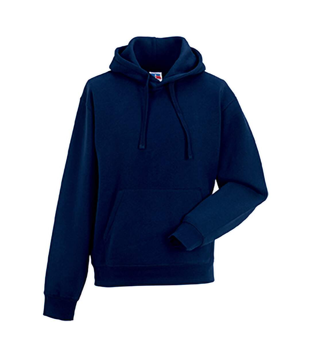 Russell Mens Authentic Hooded Sweatshirt / Hoodie (French Navy) - UTBC1498