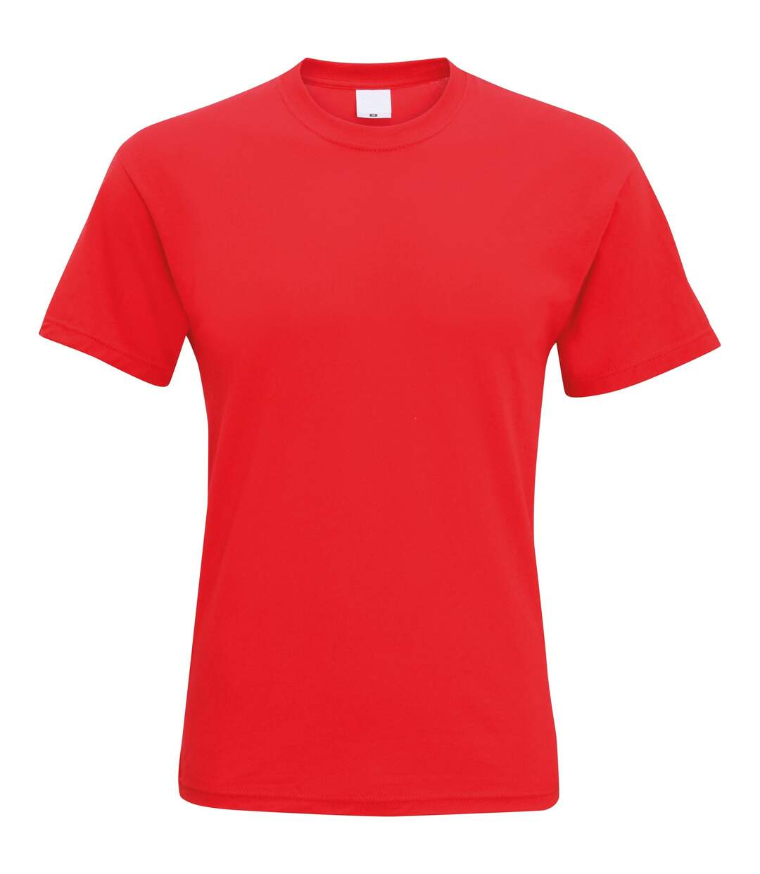 Mens Short Sleeve Casual T-Shirt (Bright Red) - UTBC3904