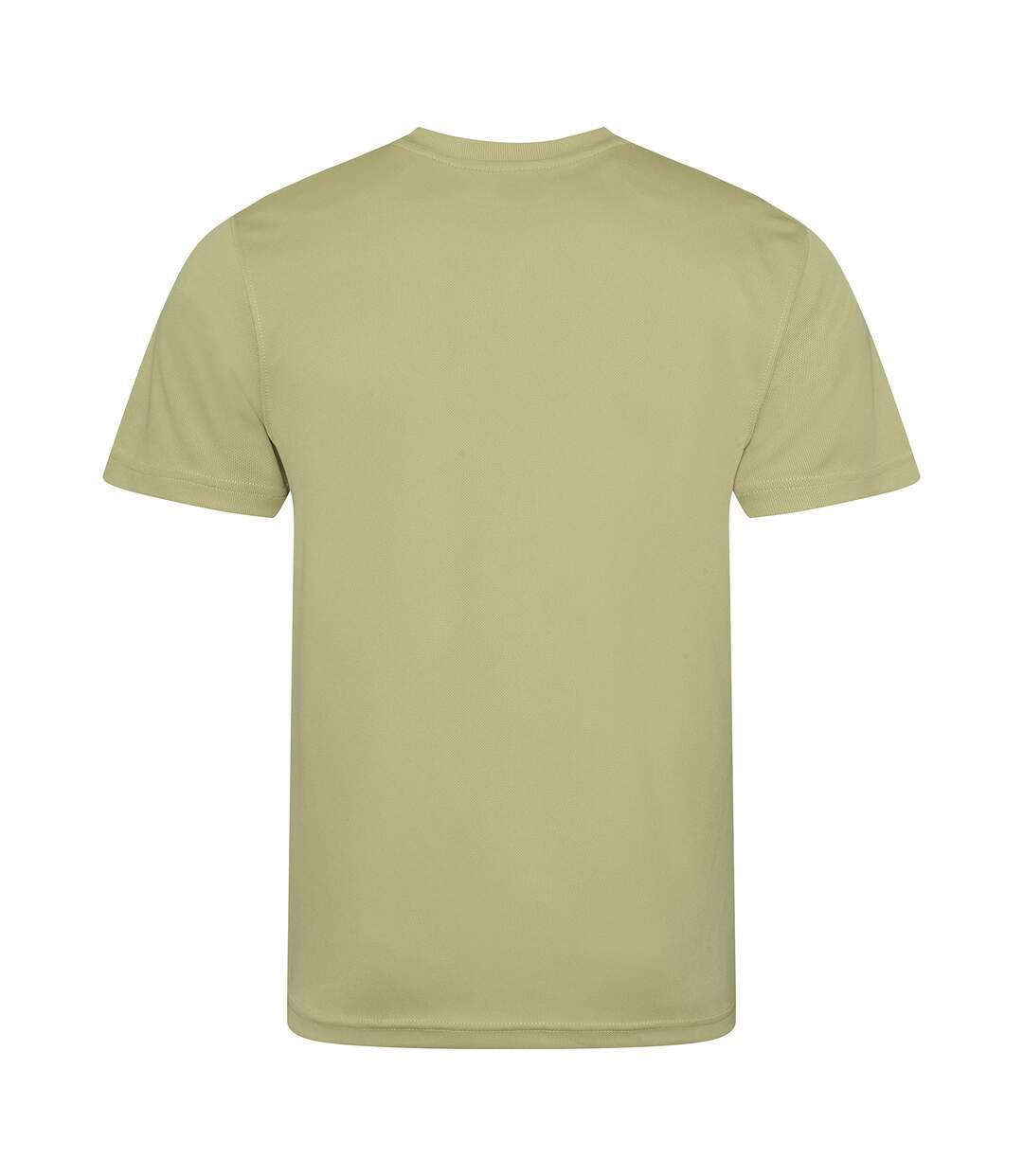 AWDis Just Cool Mens Performance Plain T-Shirt (Desert Sand) - UTRW683