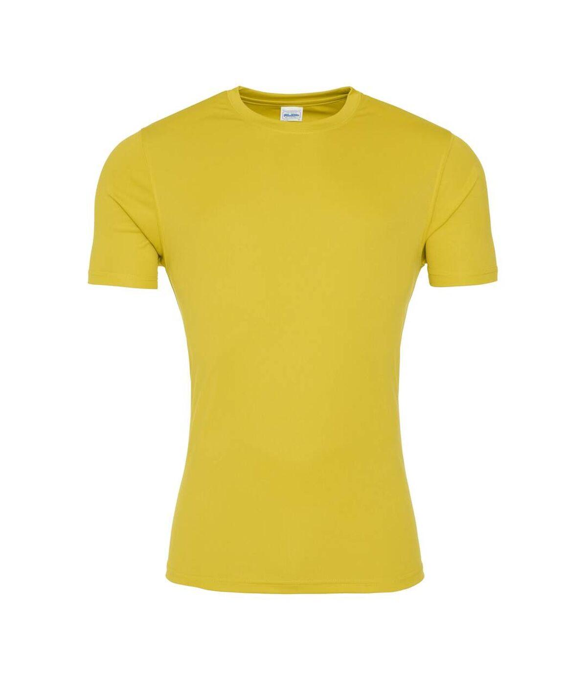 AWDis Just Cool - T-shirt sport - Homme (Jaune soleil) - UTRW5357