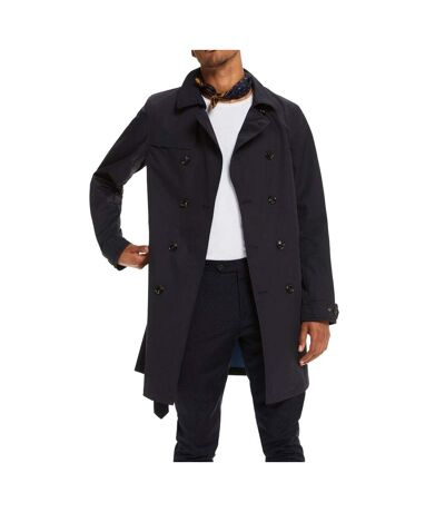 Manteau Marine Homme Scotch & Soda long Double Bregsted