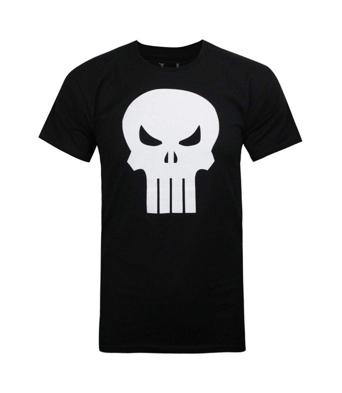 The Punisher Mens Logo T-Shirt (Black) - UTNS5481