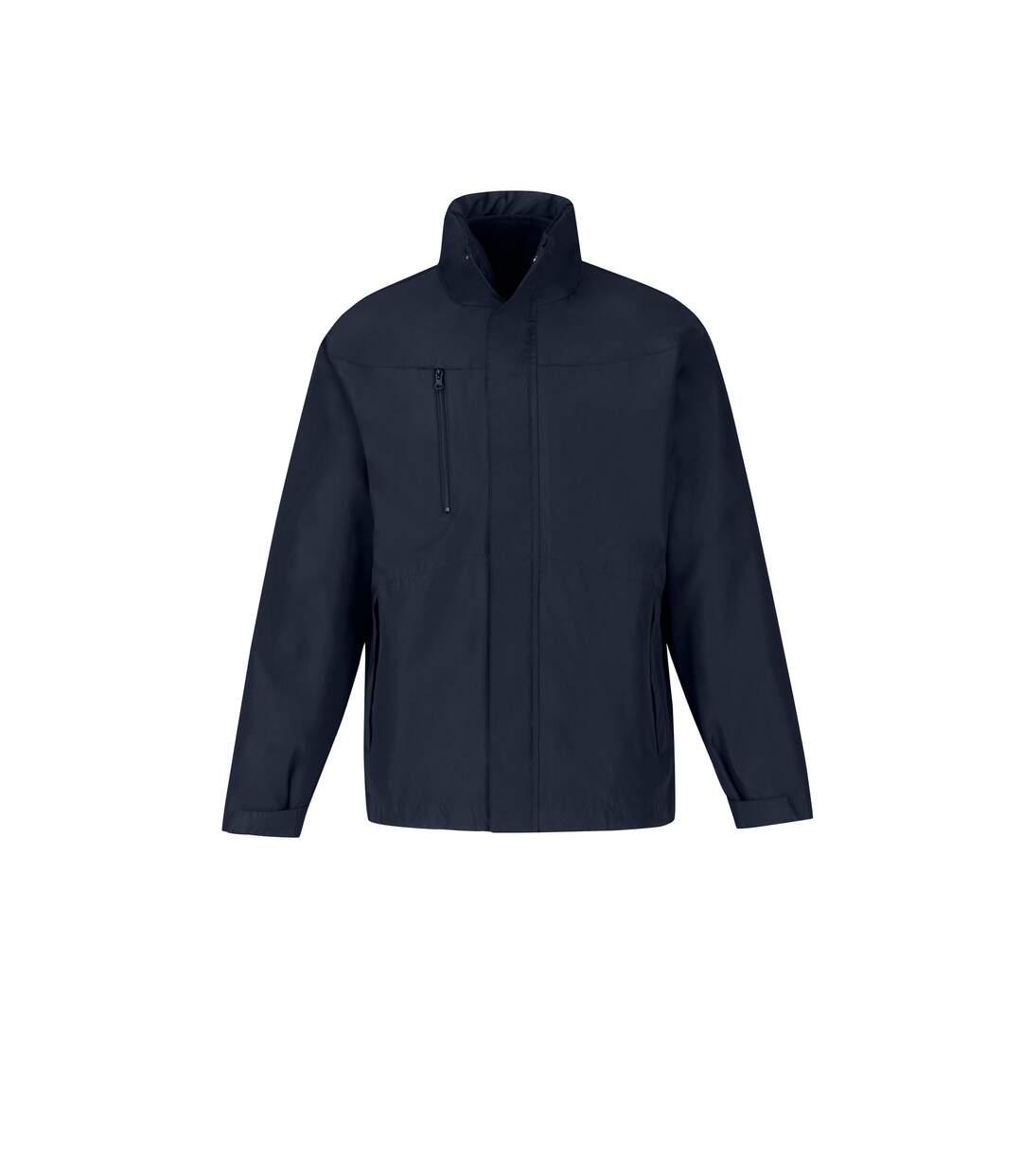 B&C - Veste parka 3 en 1 - Homme (Bleu marine) - UTRW4836