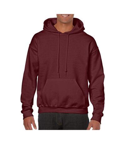 Gildan - Sweatshirt à capuche - Unisexe (Bordeaux chiné) - UTBC468