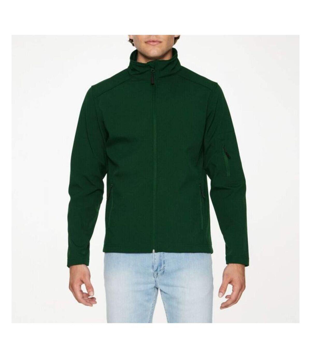 Gildan Mens Hammer Soft Shell Jacket (Forest Green) - UTPC3990