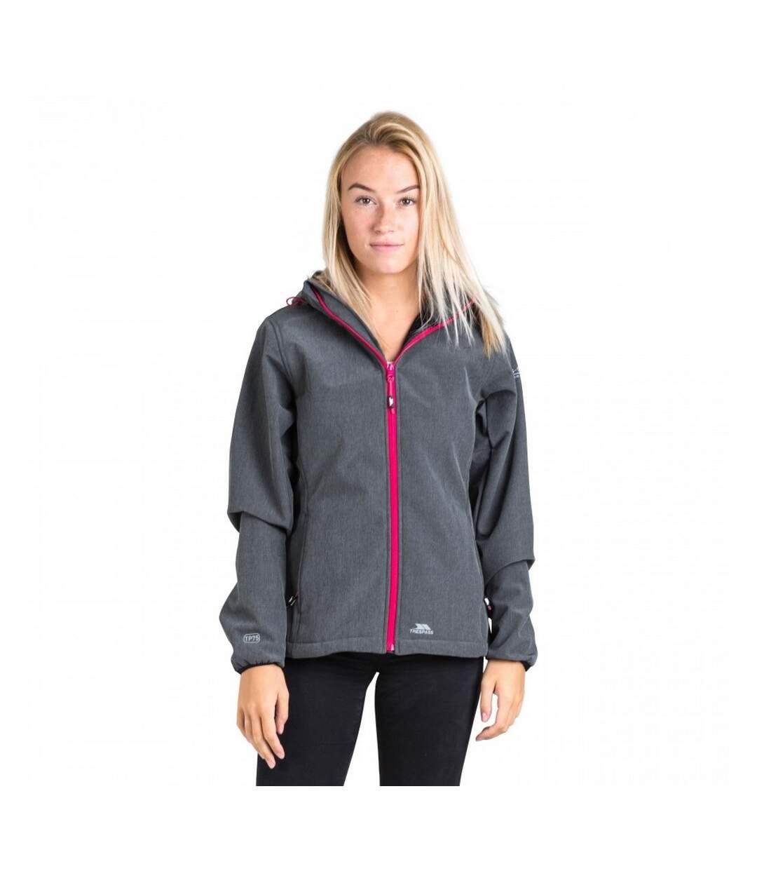 Trespass Womens/Ladies Ramona Waterproof Softshell Jacket (Carbon) - UTTP3550