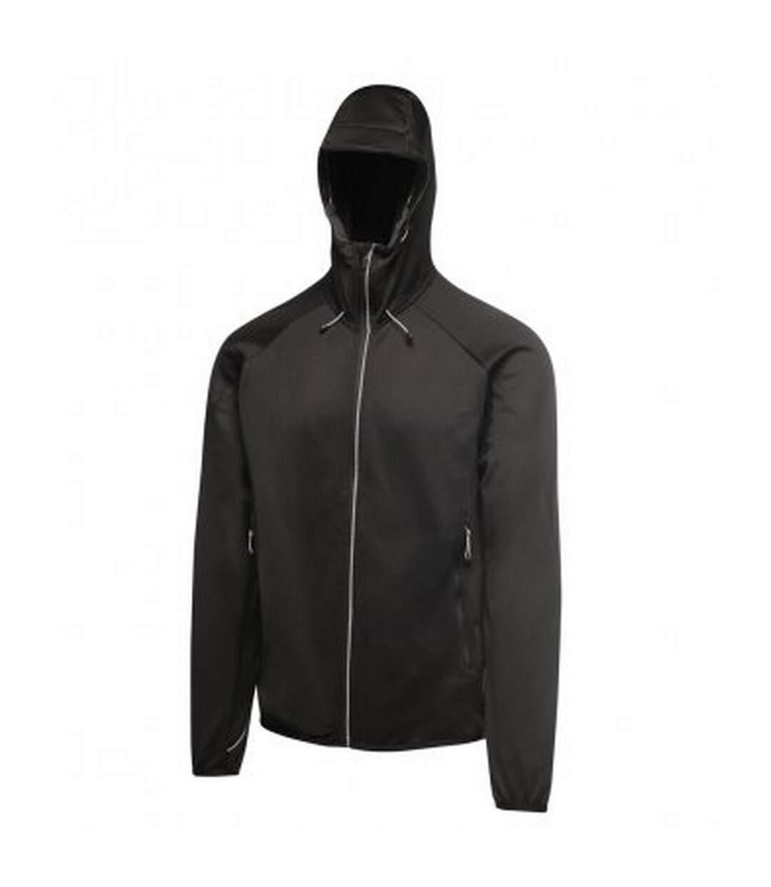 Regatta Activewear Mens Helsinki Powerstretch Jacket (Black) - UTPC3125