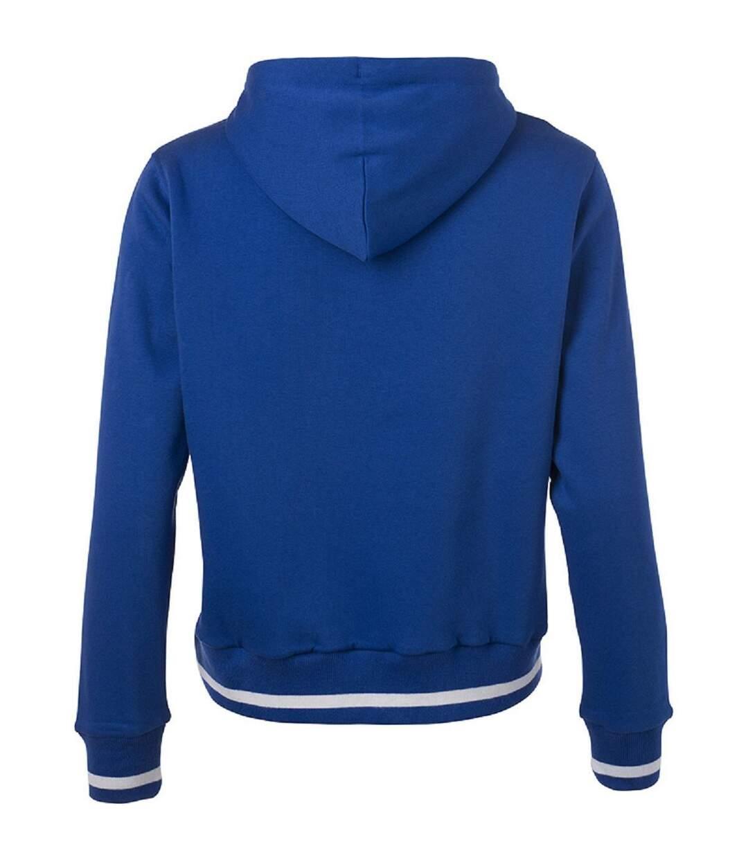 Dégagement Sweat shirt à capuche femme JN777 bleu roi dsf.d455nksdKLFHG