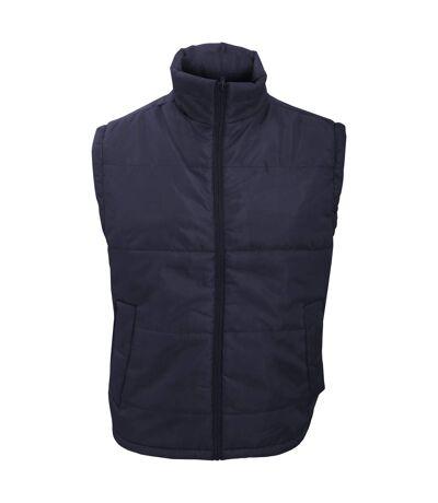 Result Mens Core Bodywarmer Water Repellent Windproof Jacket (Navy Blue) - UTBC902