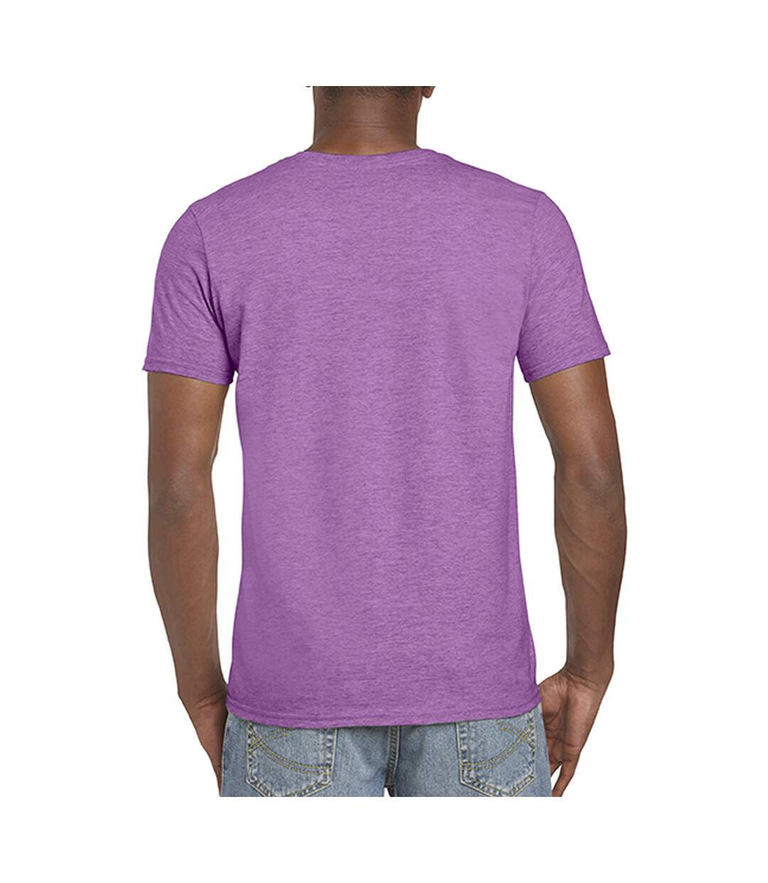 Gildan Mens Short Sleeve Soft-Style T-Shirt (Graphite Heather) - UTBC484