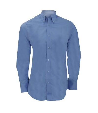 Kustom Kit Mens City Long Sleeve Business Shirt (Light Blue) - UTBC1449