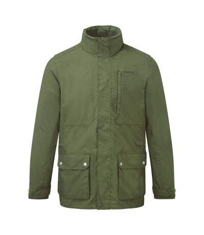 Craghoppers Mens Eldon Waterproof Insulated Jacket (Black Pepper) - UTCG176