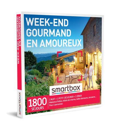 SMARTBOX - Week-end gourmand en amoureux - Coffret Cadeau Séjour