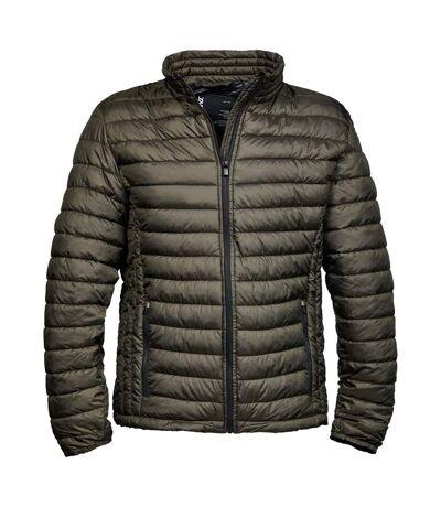 Tee Jays Mens Padded Zepelin Jacket (Dark Olive) - UTBC3334