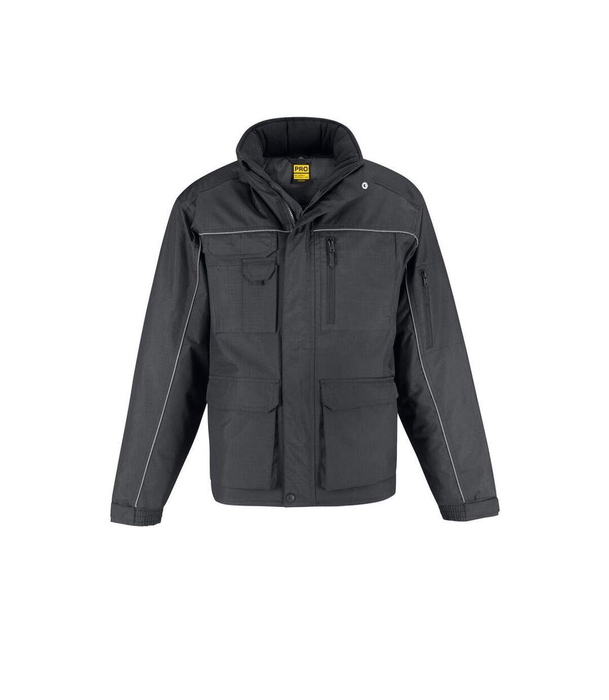 B&C Mens Shelter Pro Waterproof Jacket (Dark Grey) - UTRW4833