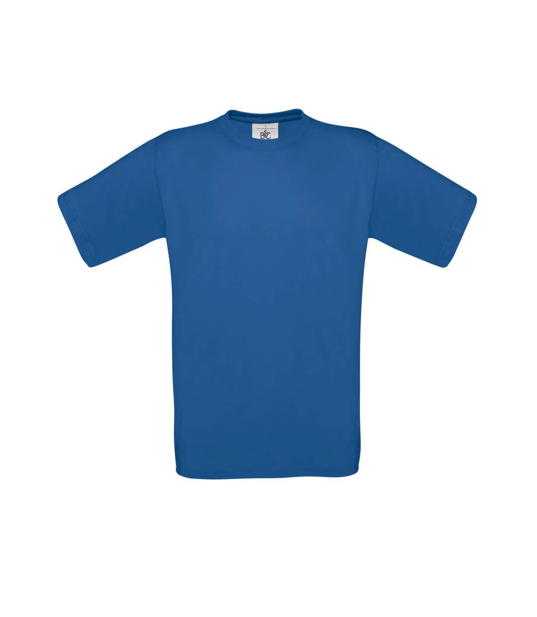 B&C Mens Exact 150 Short Sleeve T-Shirt (Royal Blue) - UTBC1288