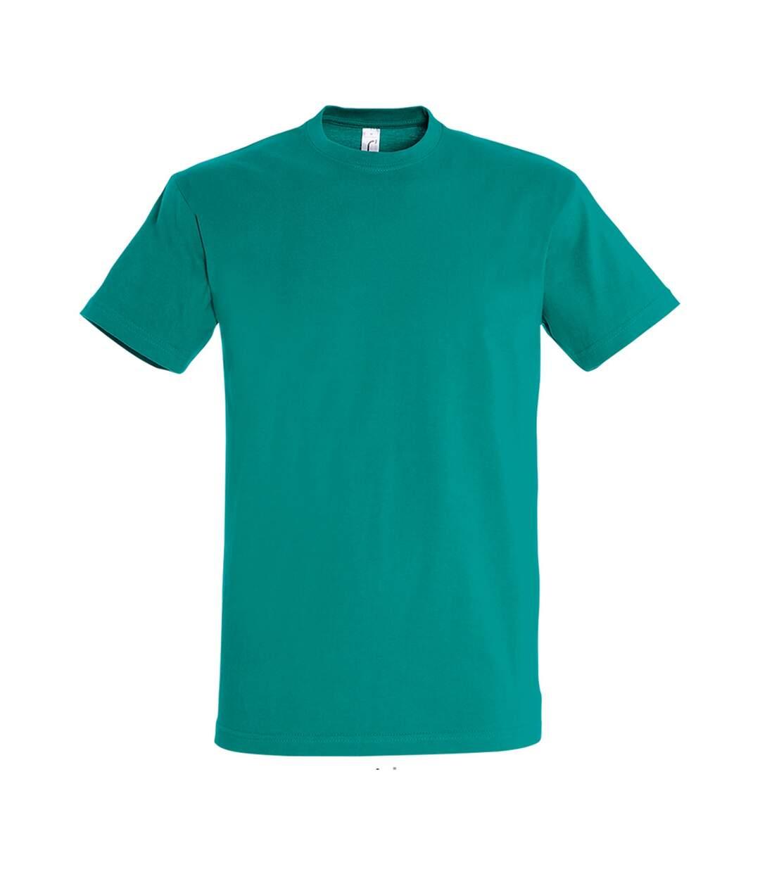 SOLS Mens Imperial Heavyweight Short Sleeve T-Shirt (Emerald) - UTPC290