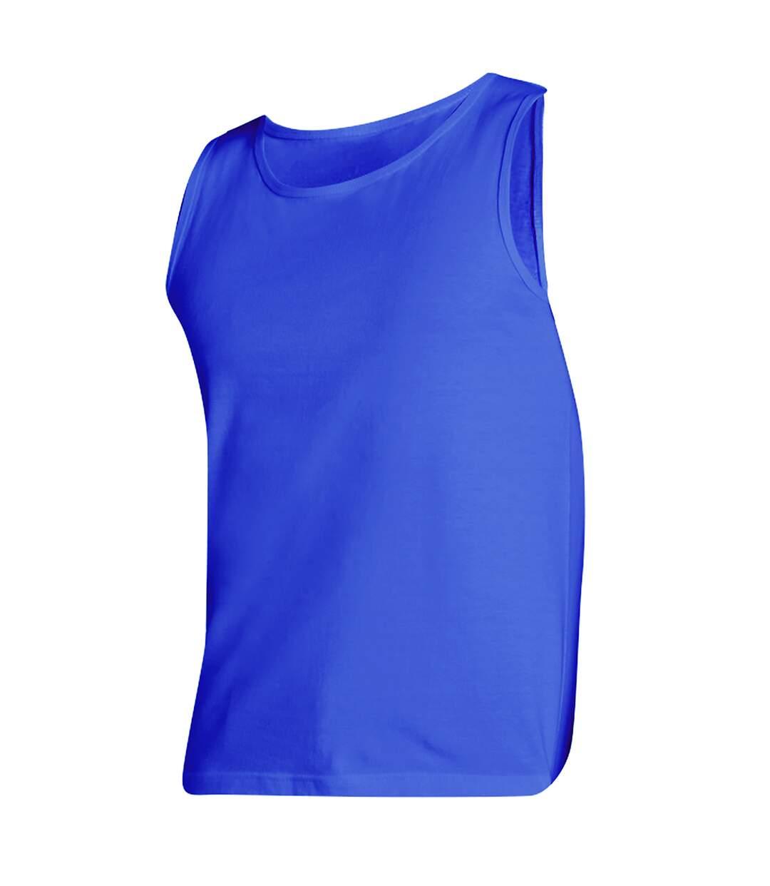 SOLS Mens Justin Sleeveless Tank / Vest Top (Blue Atoll) - UTPC312