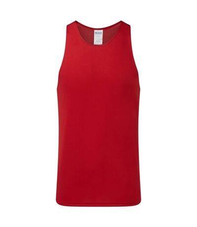 Gildan Mens Performance Racerback Vest (Sport Scarlett Red) - UTRW6074