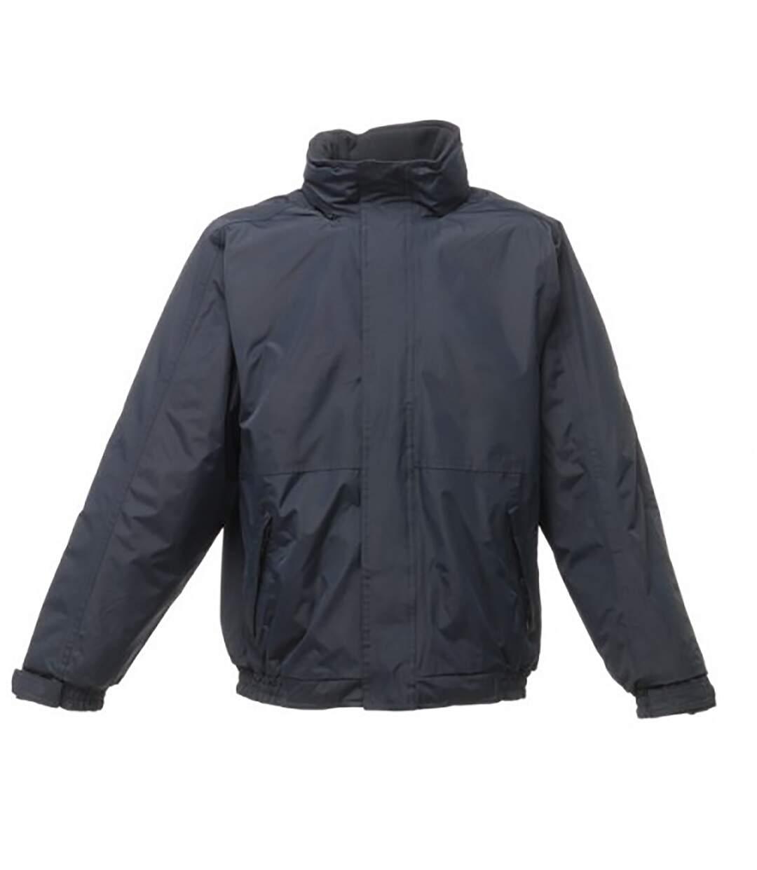 Regatta Dover Waterproof Windproof Jacket (Thermo-Guard Insulation) (Navy/Navy) - UTBC839