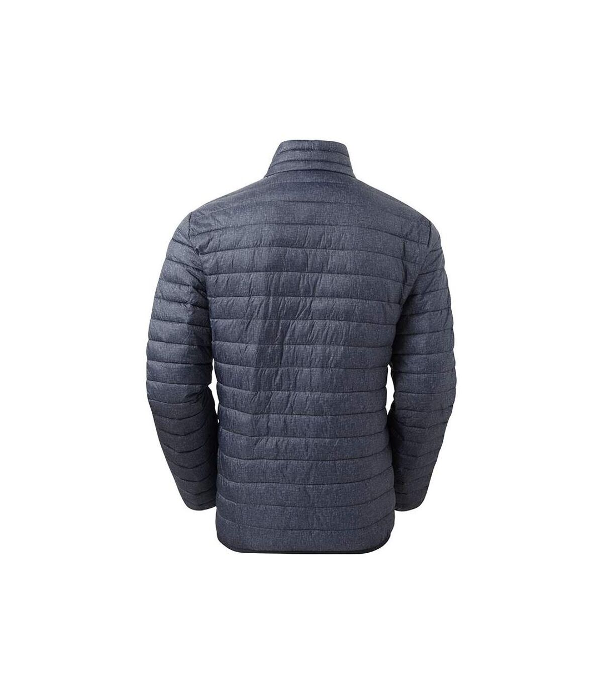 2786 Mens Melange Padded Jacket (Navy Melange) - UTRW7331