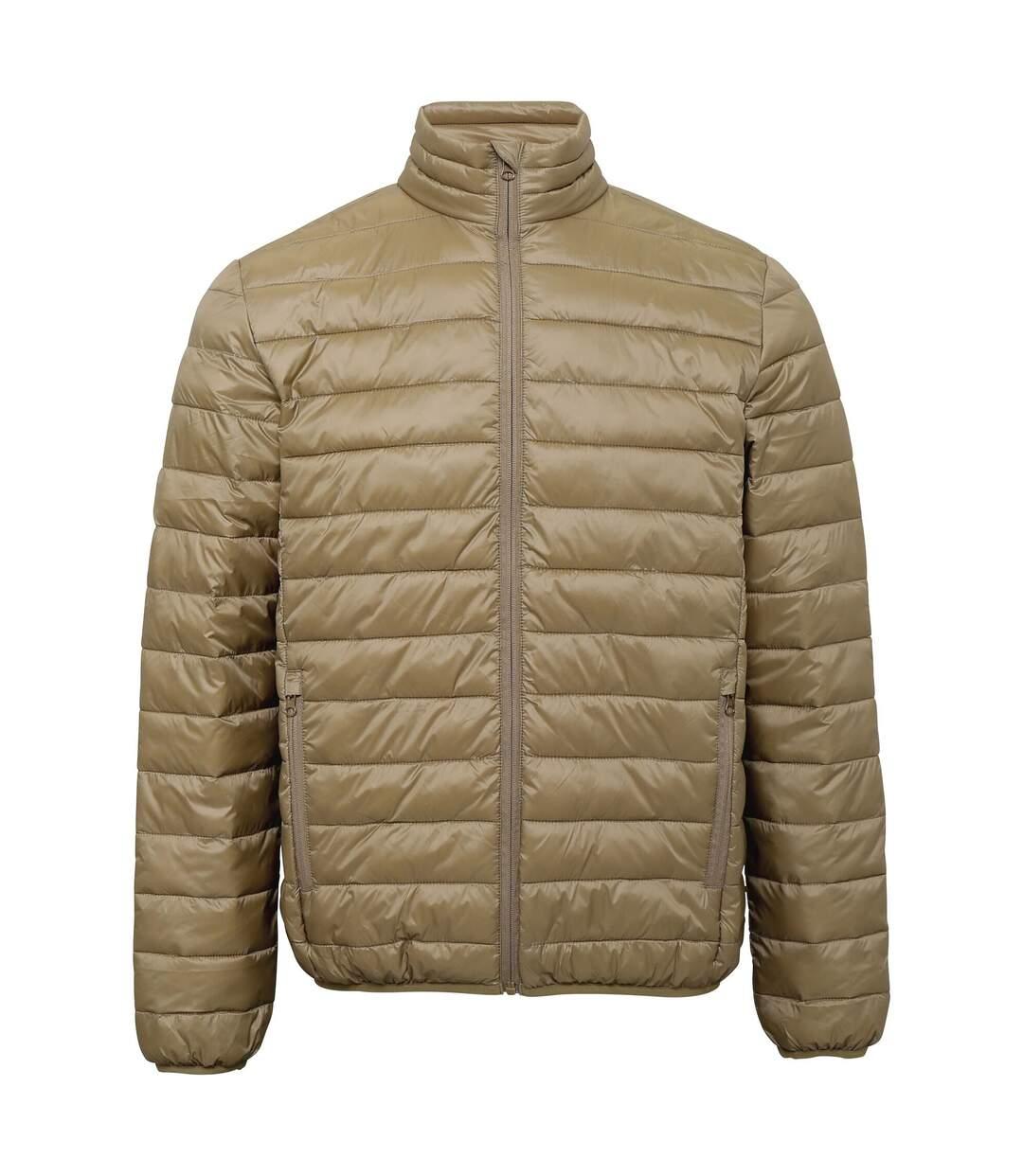 2786 Mens Terrain Long Sleeves Padded Jacket (Khaki) - UTRW6282
