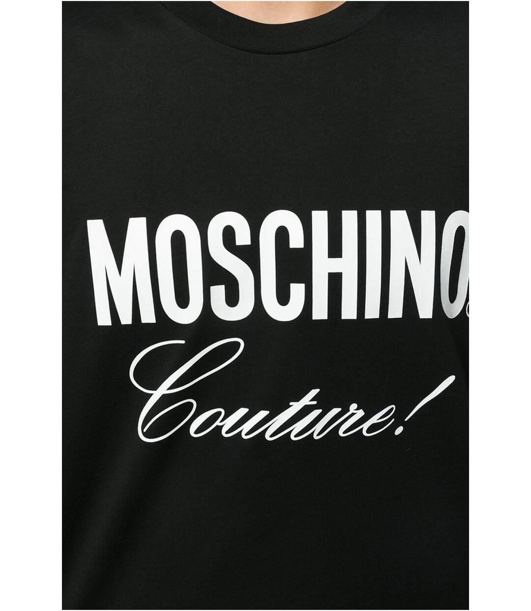 Tee shirt coton logo  -  Moschino - Homme