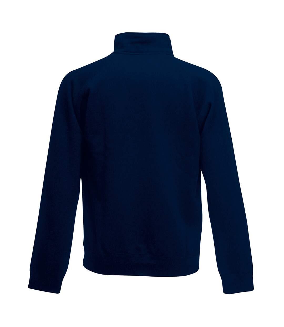 Fruit Of The Loom Mens Sweatshirt Jacket (Deep Navy) - UTBC1375