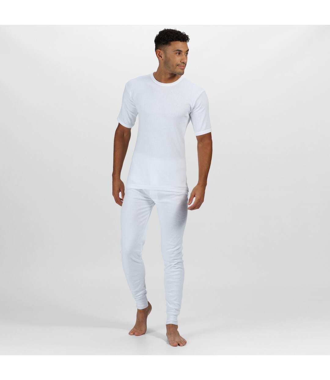 Regatta - T-shirt thermique à manches courtes - Homme (Blanc) - UTRG1427