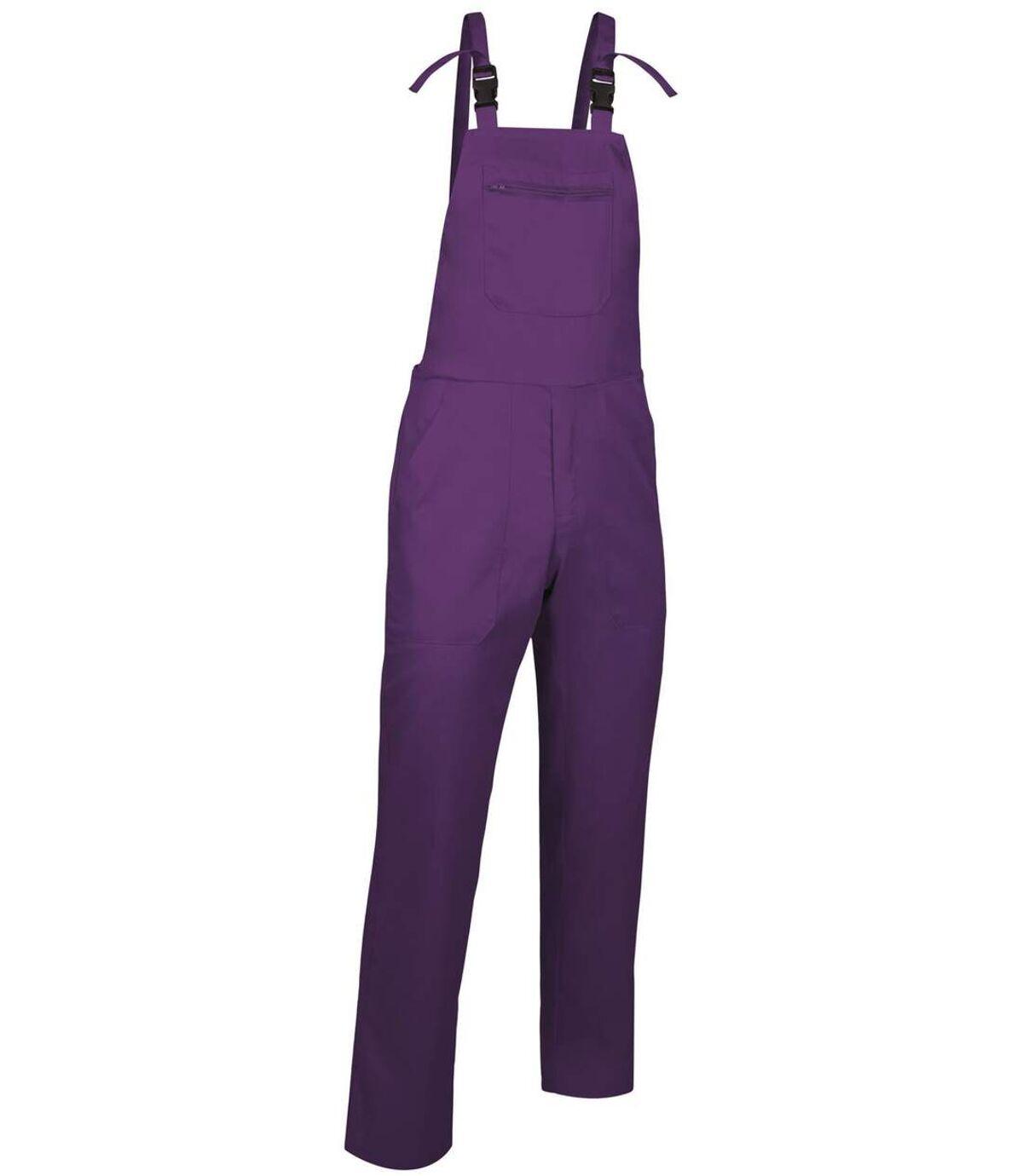 Salopette à bretelles mixte - PREGON - violet