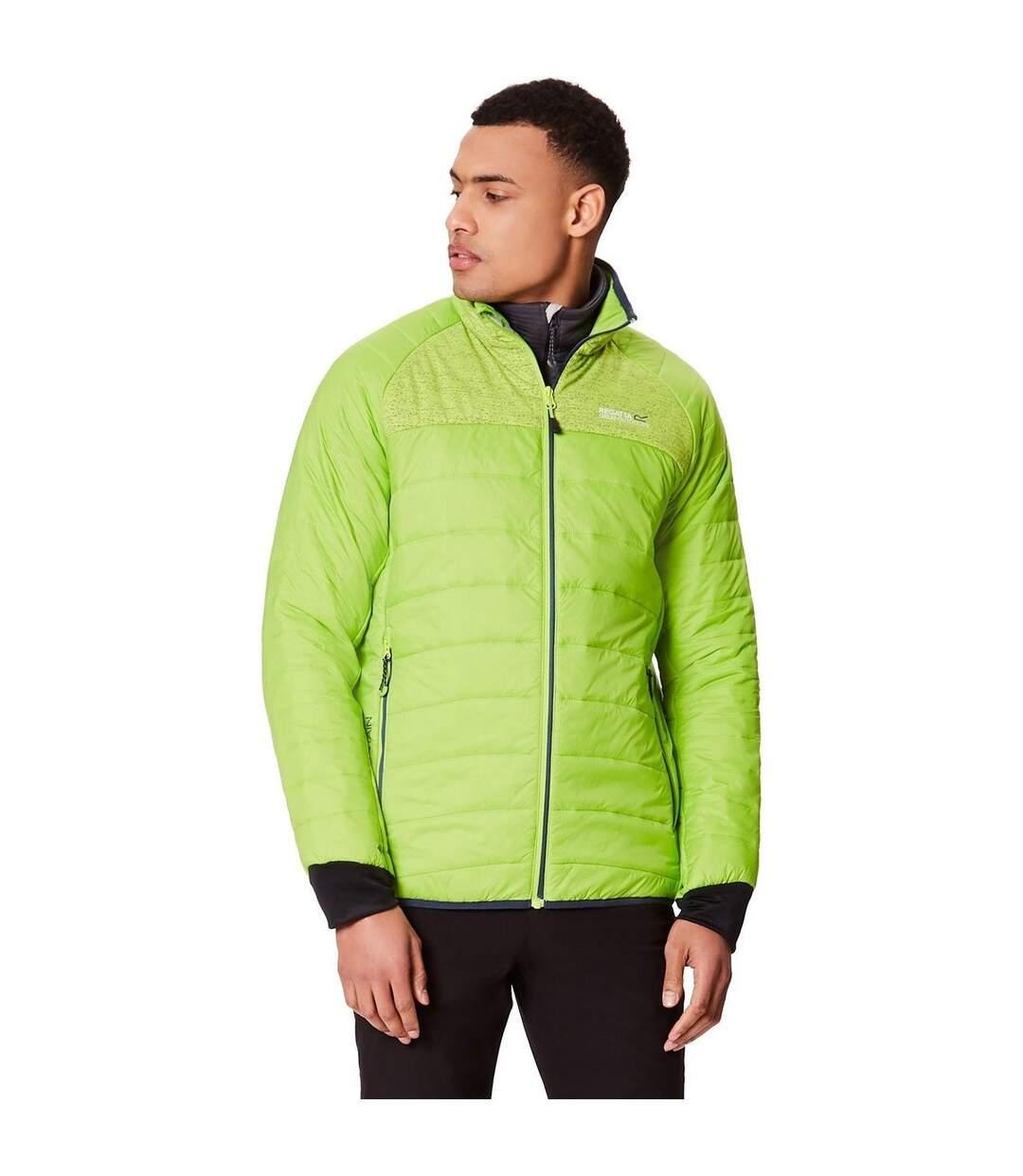 Regatta Mens Halton II Full Zip Jacket (Lemon Yellow) - UTRG3671