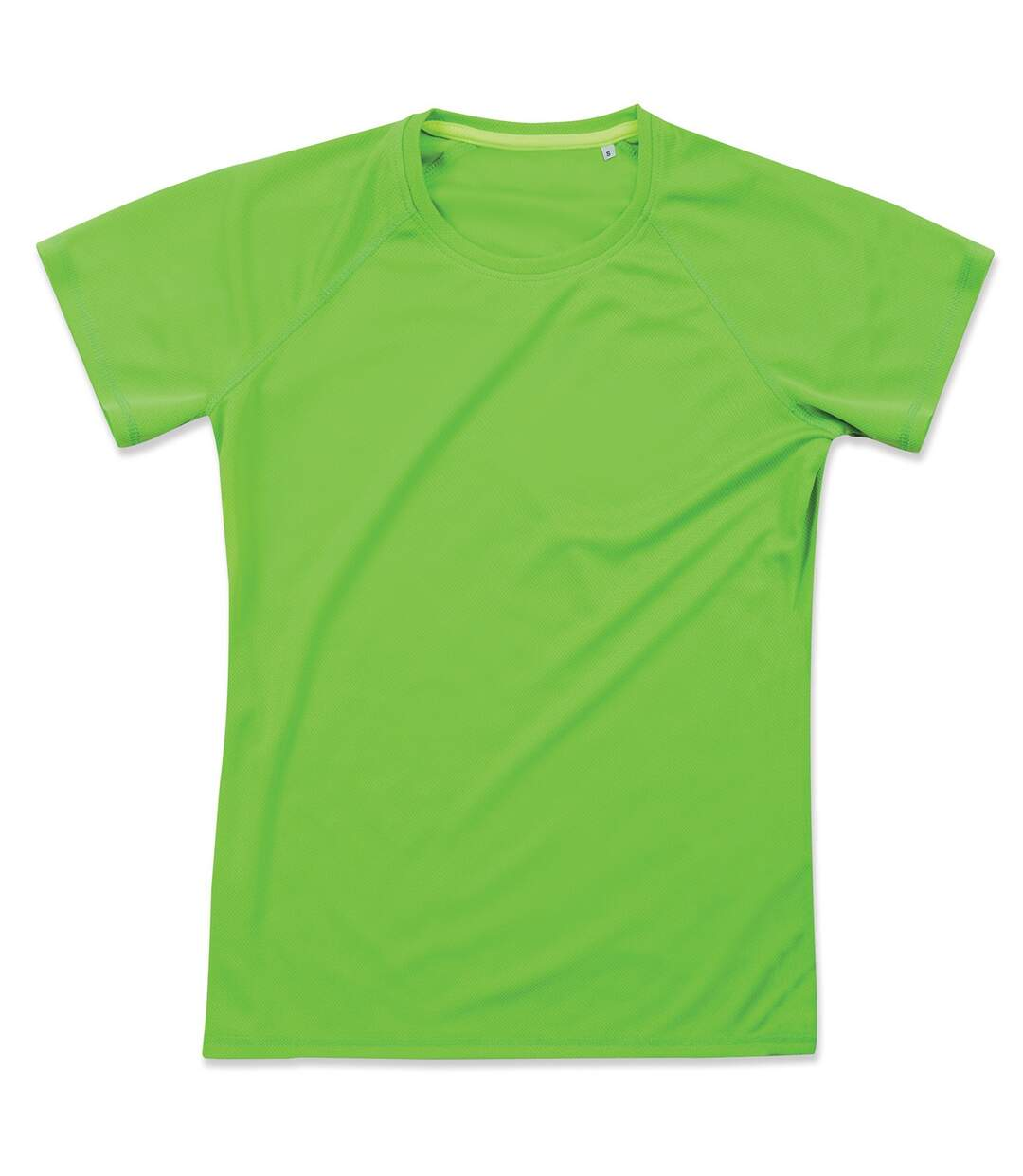 Stedman Womens/Ladies Raglan Mesh T-Shirt (Kiwi Green) - UTAB347