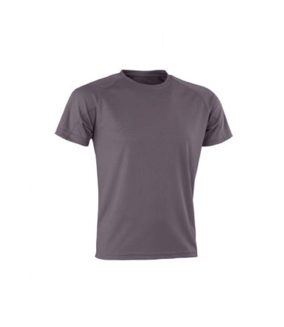 Spiro Mens Aircool T-Shirt (Flo Pink) - UTPC3166