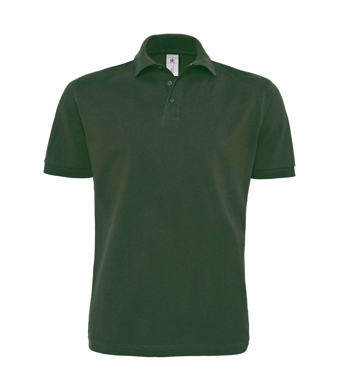 Polo lourd manches courtes - homme - PU422 - vert bouteille