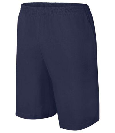 short jersey Homme - PA151- bleu marine