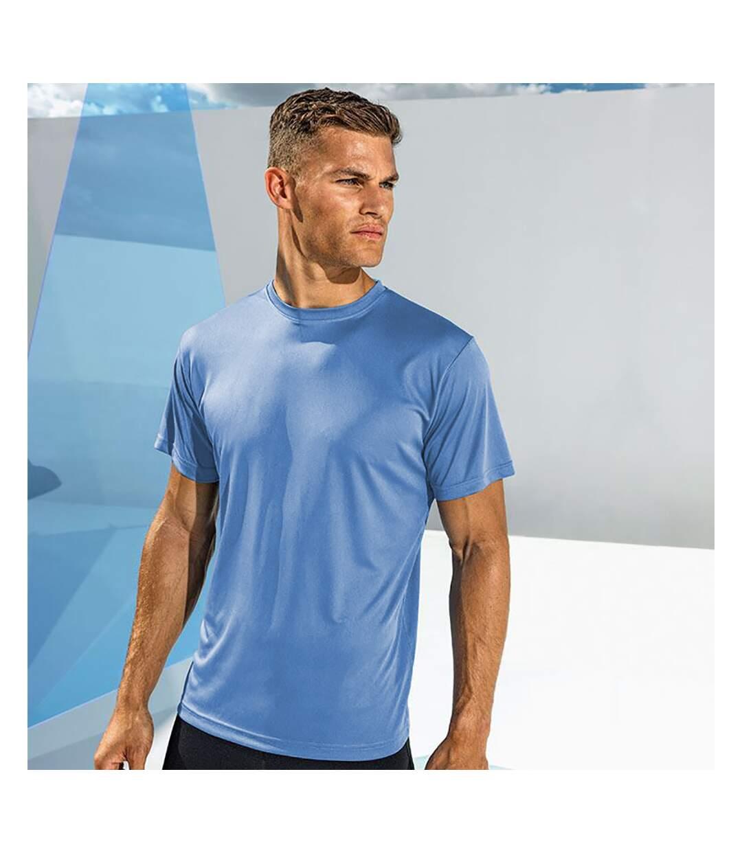 Tri Dri Mens Short Sleeve Lightweight Fitness T-Shirt (Cornflower) - UTRW4798