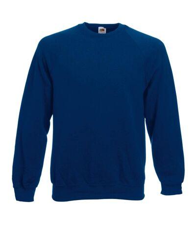 Fruit Of The Loom Mens Raglan Sleeve Belcoro® Sweatshirt (Navy) - UTBC368