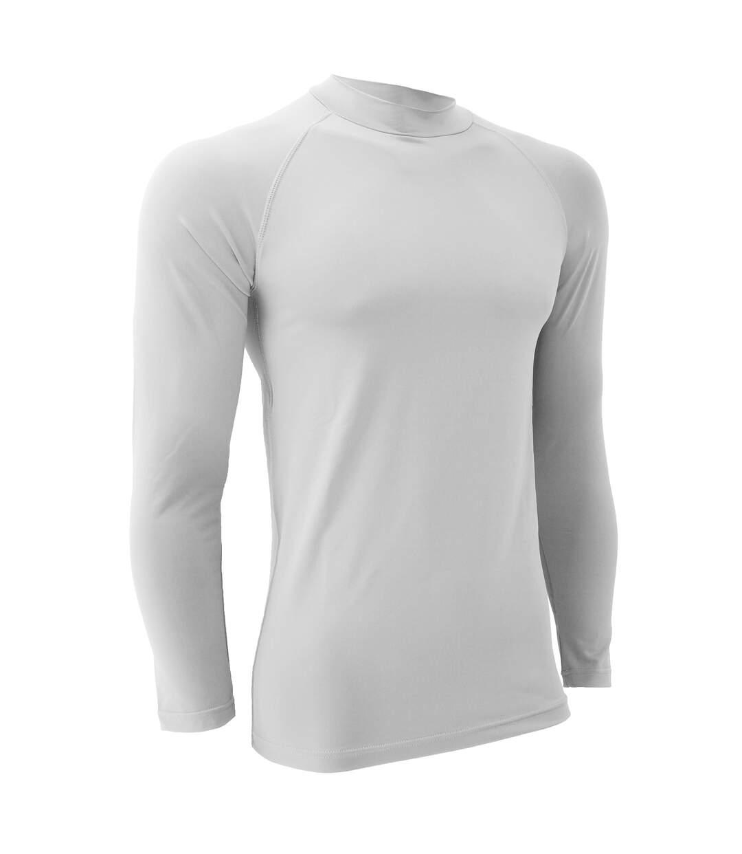Finden & Hales Mens Sports Long Sleeve Team Baselayer Vest (White) - UTRW411
