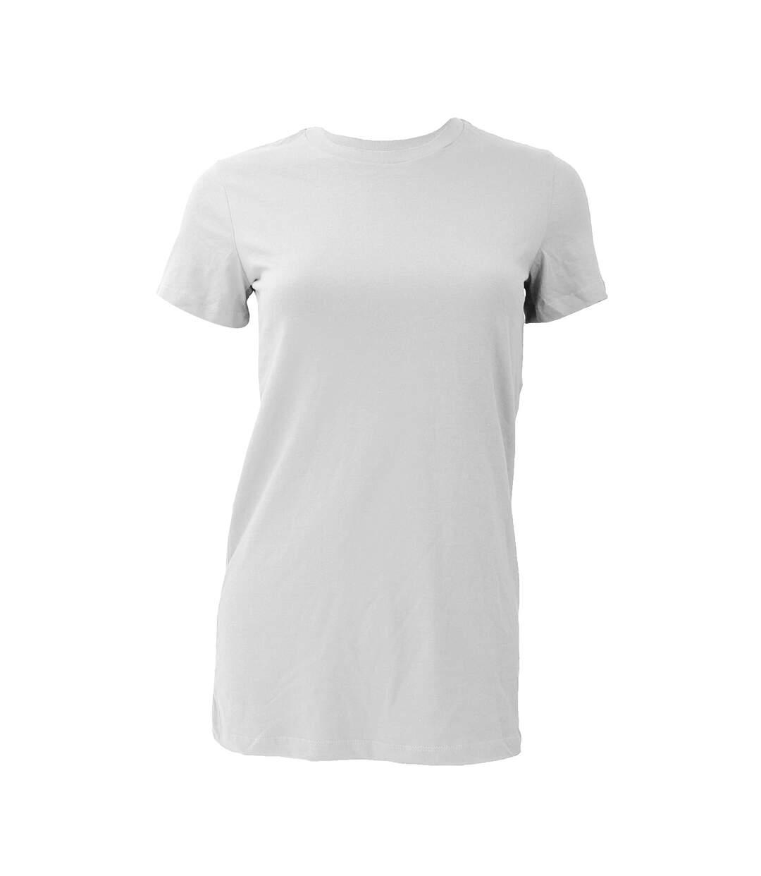 Bella The Favourite Tee - T-Shirt À Manches Courtes - Femme (Blanc) - UTBC1318