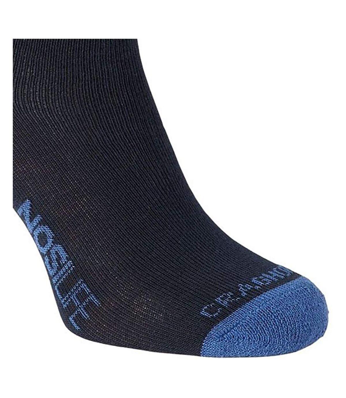 Craghoppers NosiLife Mens Insect Repellent Travel Socks (Dark Navy/Soft Denim) - UTCG289