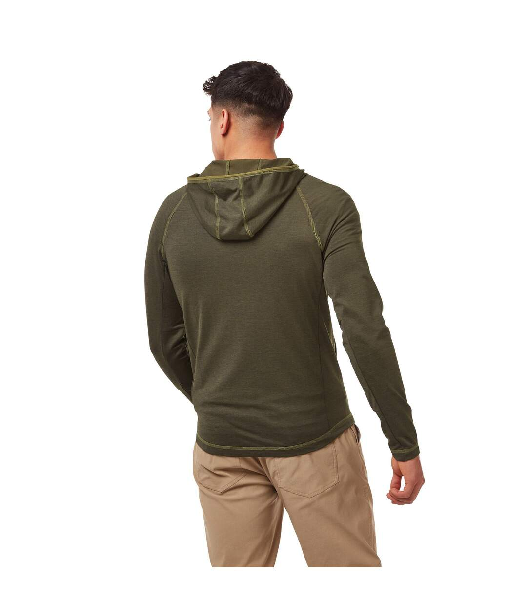 Craghoppers Mens NosiLife Tiago Jacket (Woodland Green Marl) - UTCG1294