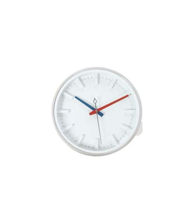 Pendule Silver 30cm Blanc