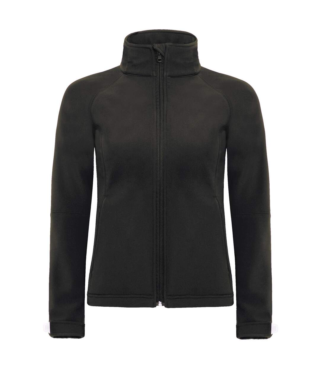 B&C Womens Hooded Premium Softshell Jacket (Windproof, Waterproof & Breathable) (Black) - UTBC2004