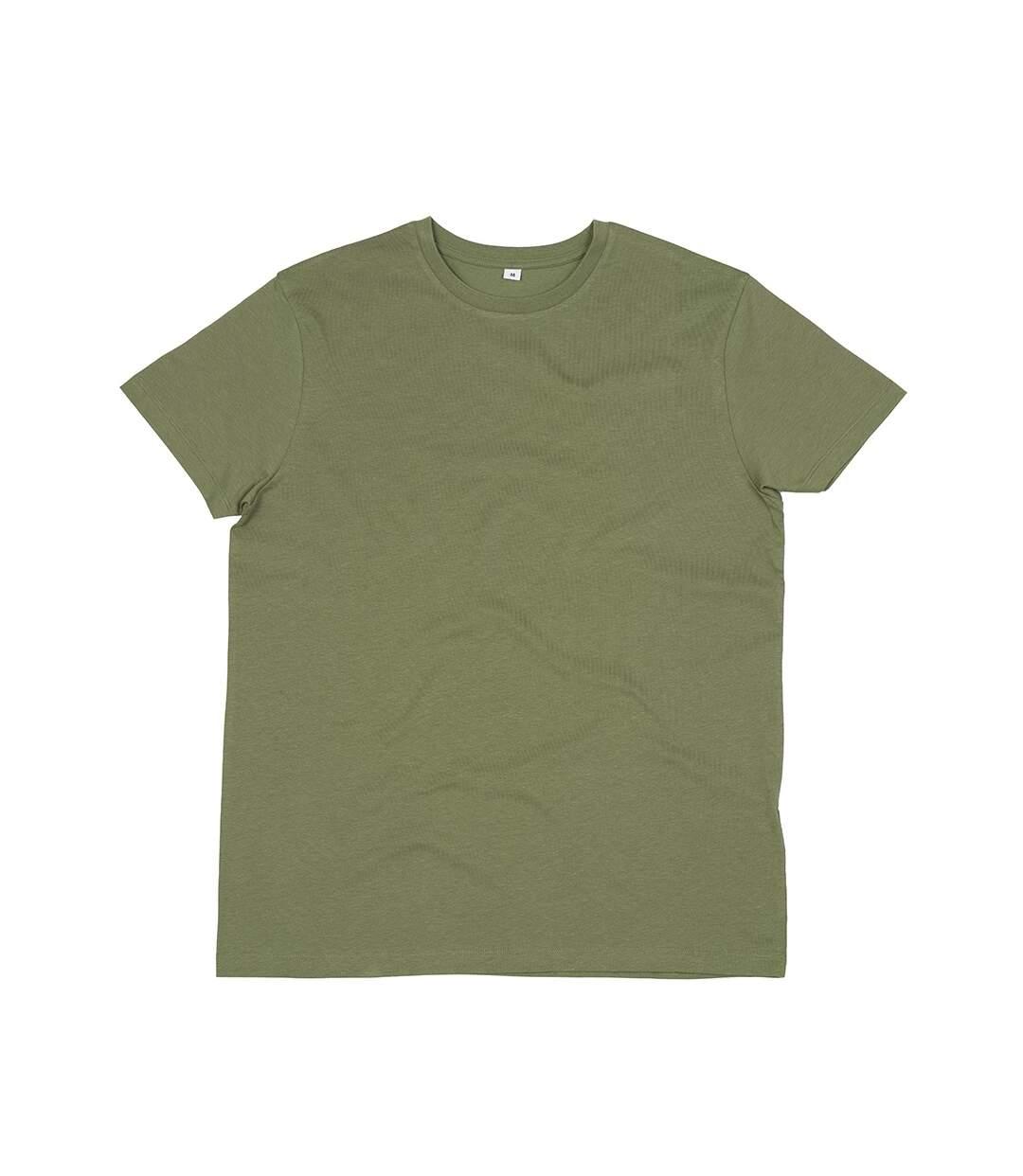 Mantis Mens Organic T-Shirt (Soft Olive) - UTPC3964